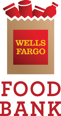Wells Fargo holiday Food Bank logo